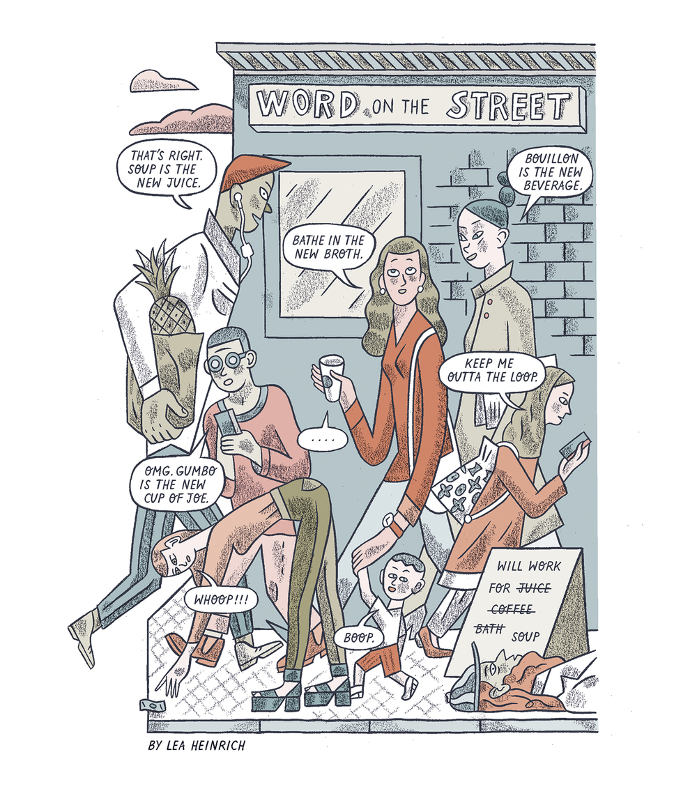 Word On The Street Comic For Guardian Lea Heinrich