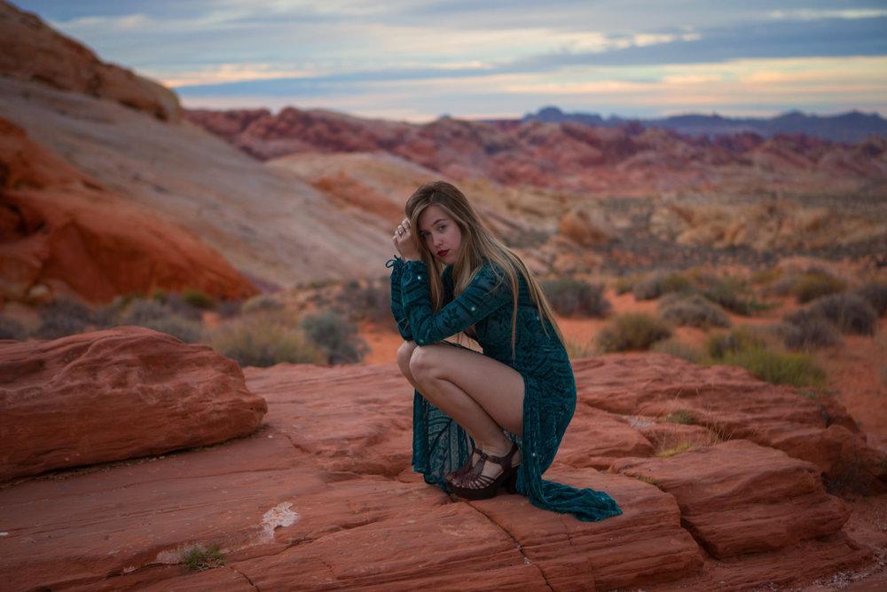 AstroBandit_JordanRose_ValleyOfFire_ForLoveandLemons_SbiccaFootwear_Sunset_1.jpg