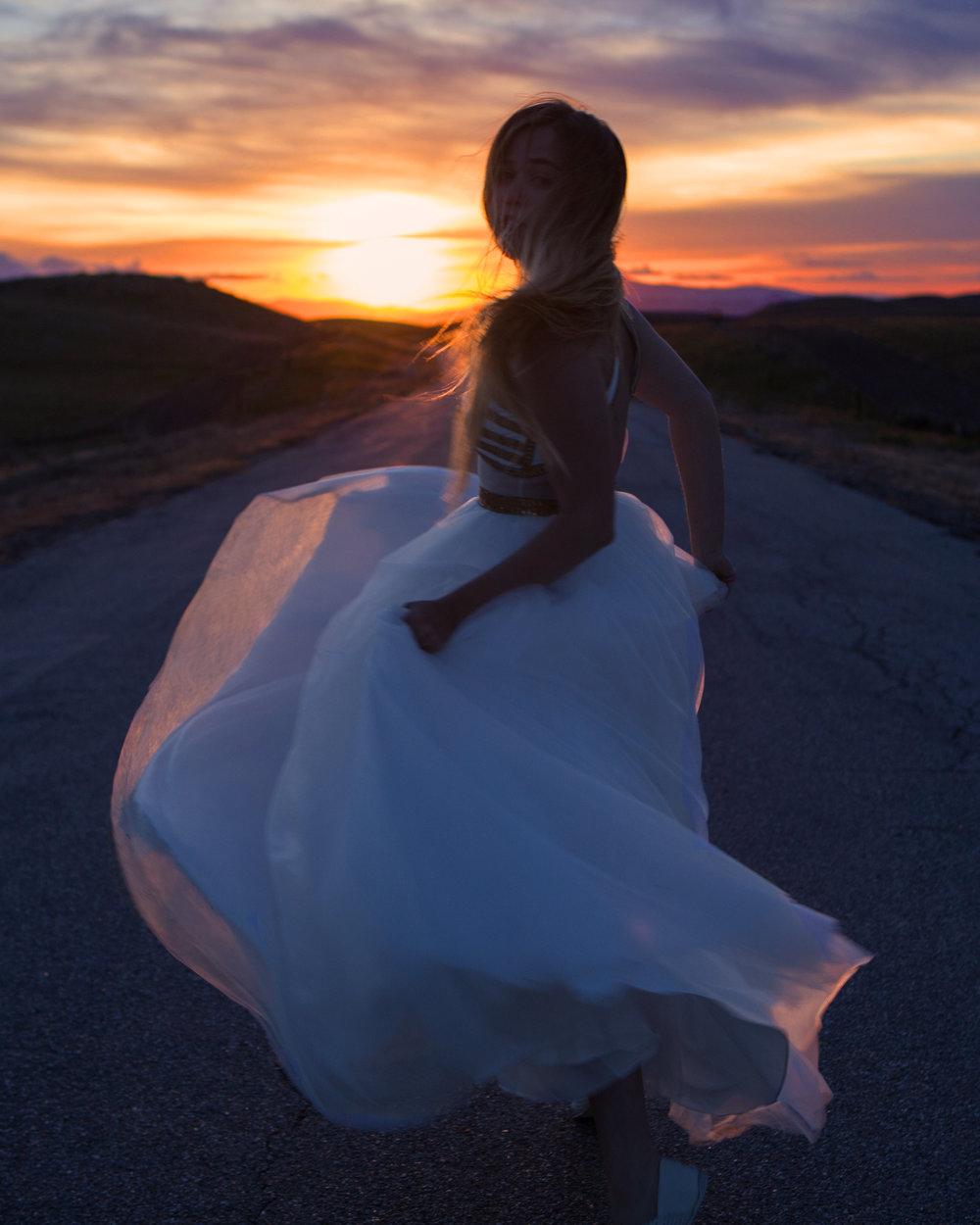 r u n a w a y ~ dress by Madison James