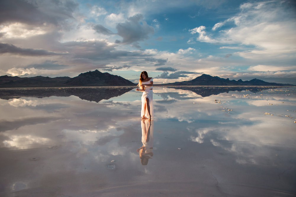 Mirror Mirror | Bonneville Salt Flats — Astro Bandit | Fashion ...