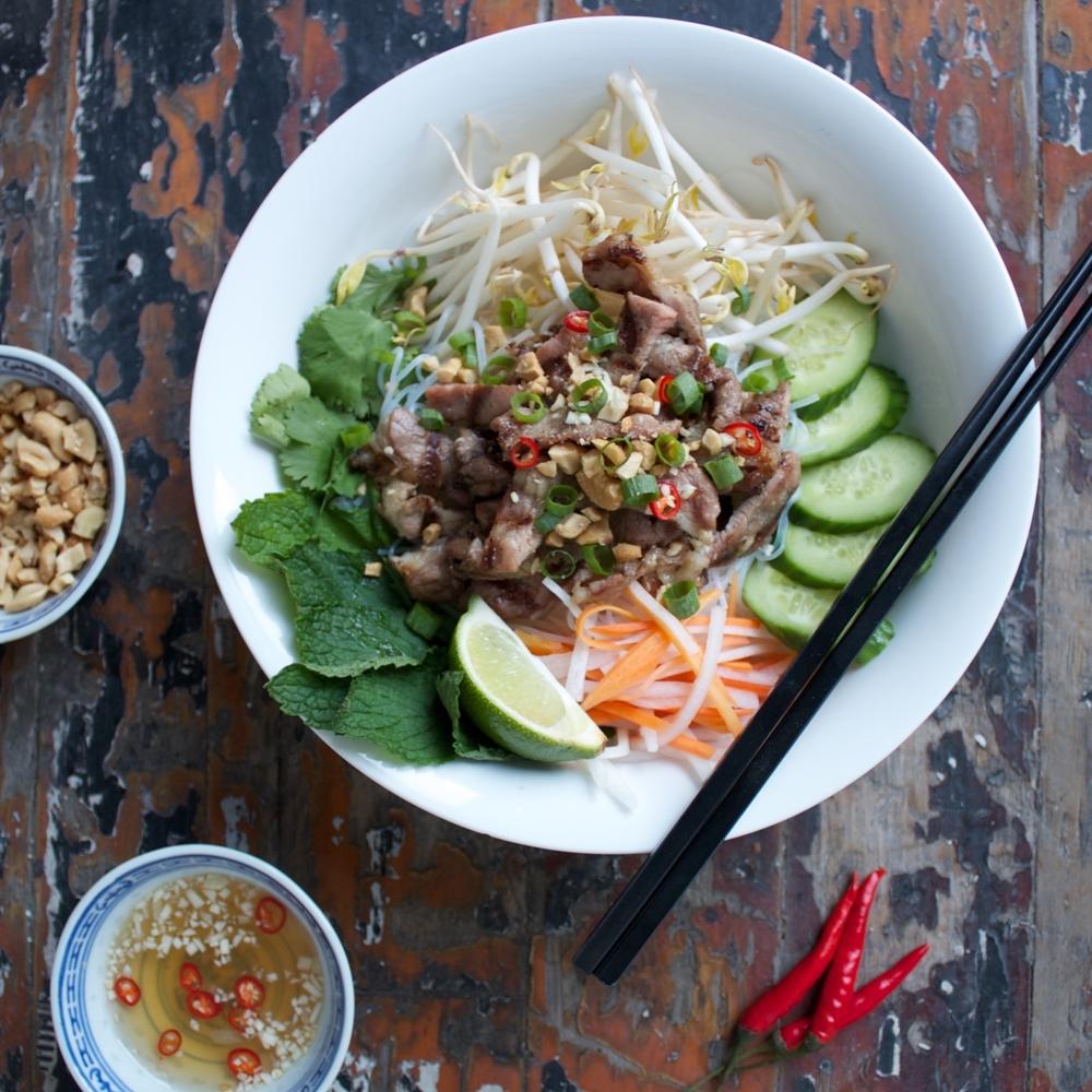Gluten Free Bun Thit Nuong