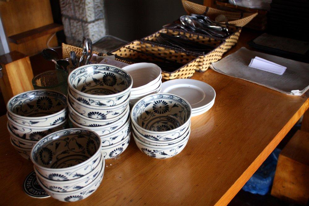 Pretty bowls.