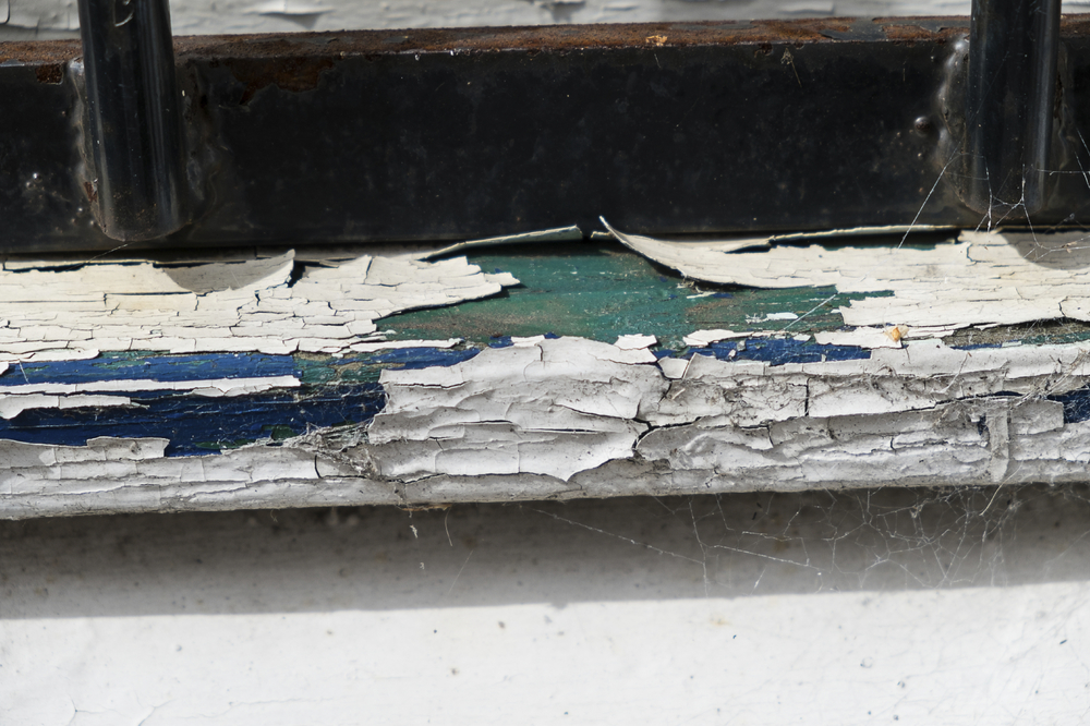 Peeling paint inside and out of older homes is a primary source of lead exposure for children.