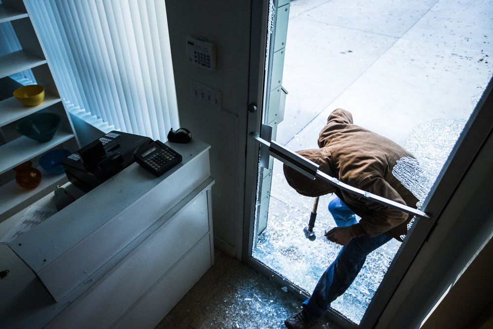 breaking and entering misdemeanor