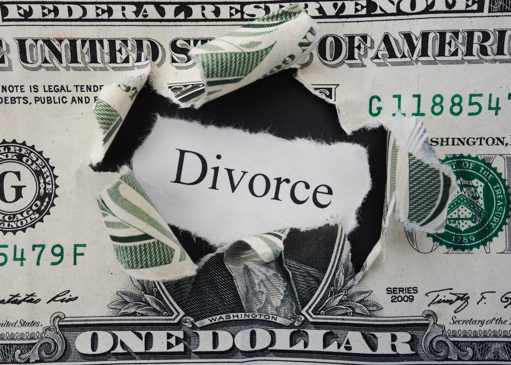 divorce monetary case