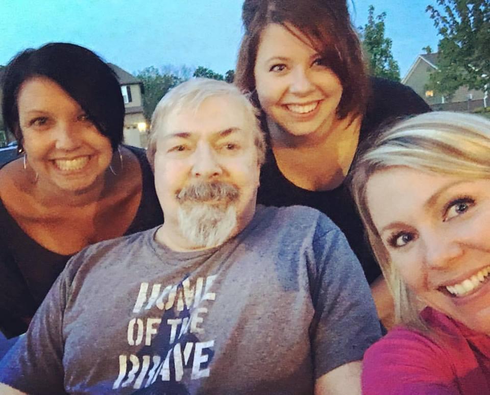 A little family selfie.