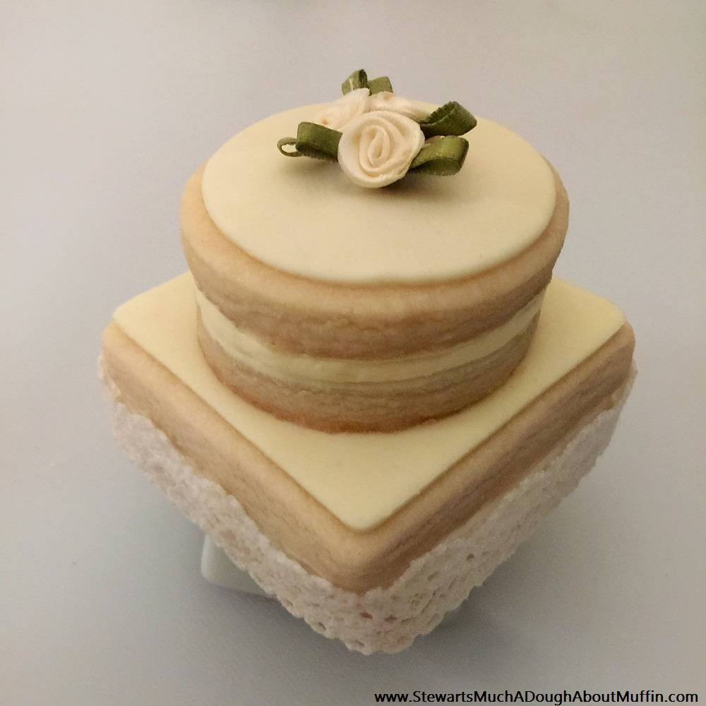 Shortbread Celebration Cake -  {Mini} Celebration Cakes For Your: Wedding, Anniversary, Baby Shower, Elegant Entertaining