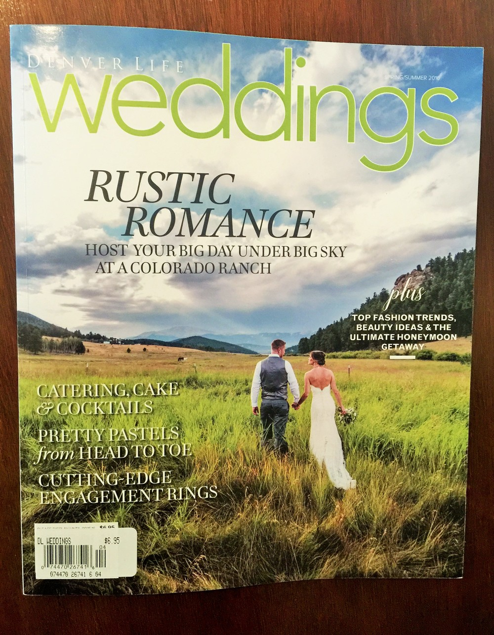 AS SEEN IN DENVER LIFE WEDDINGS, Spring & Summer 2016.