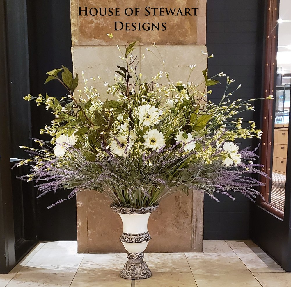 House of Stewart Now Offers Custom Floral Design, Contact Us.