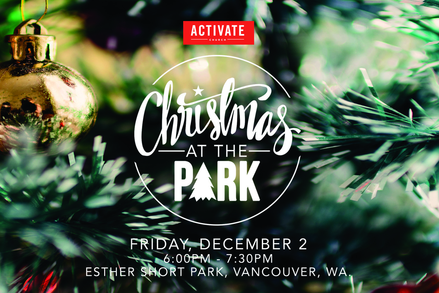 Christmas In The Park.Christmas At The Park Activate Church