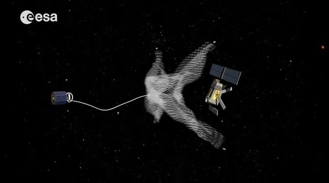 Catch the satellite - Image Credit:  ESA