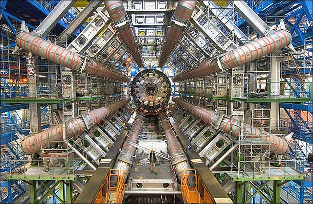 The Large Hadron Collider/ATLAS at CERN -  Image Credit: Image Editor/flickr