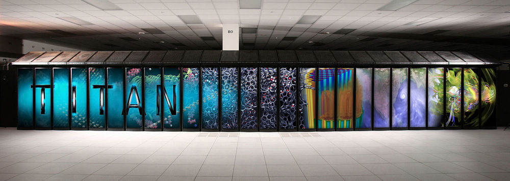 Titan supercomputer at the Oak Ridge National Laboratory - Image Credit Oak Ridge National Laboratory