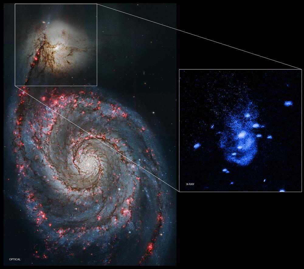 Galaxy NGC 5195 - Image Credit: NASA