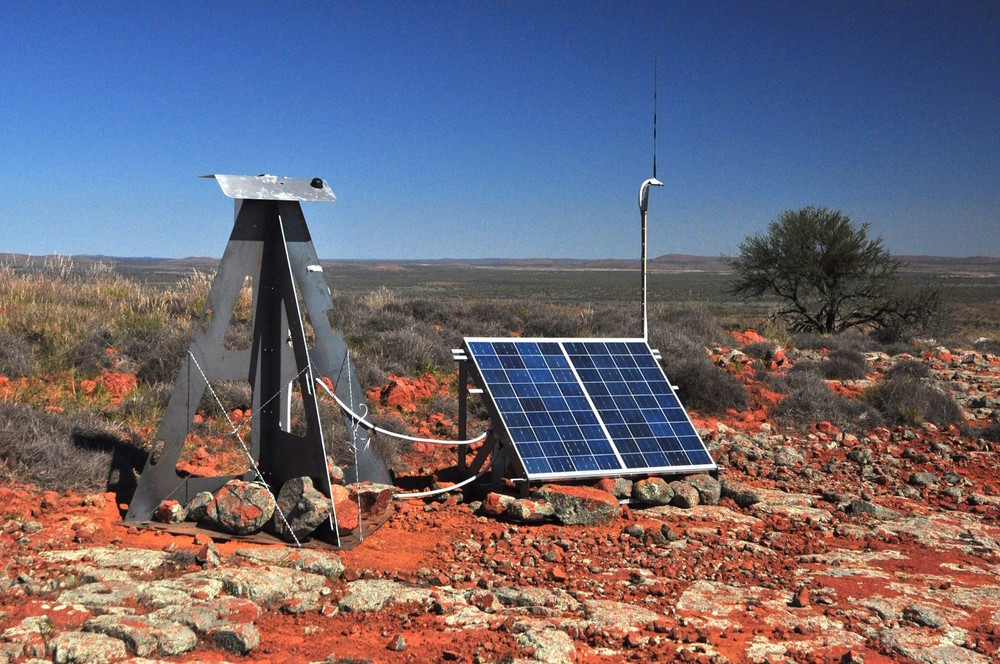 One of the automated cameras keeping watch on the sky. Desert Fireball Network, Curtin University, Author provided