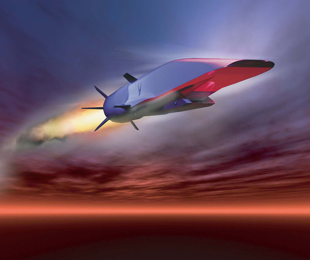 An impression of the X-51 Waverider, the US hypersonic aircraft programme - Image Credit:  NASA