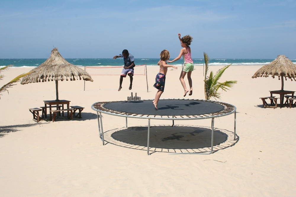 Trampolines: fun and educational - Image Credit:  cotrim/pixabay