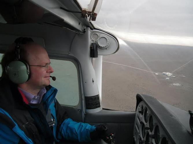 Flying over LIGO. Author provided