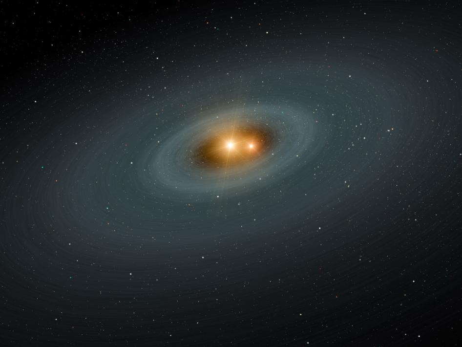 If the stars are massive enough, they could collapse into black holes. - Image Credit: NASA/JPL-Caltech