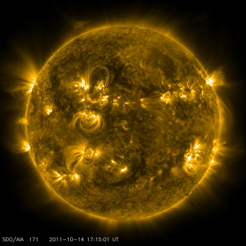 Batteries and a cylinder with the mass of the sun not included. - Image Credit:  NASA/SDO