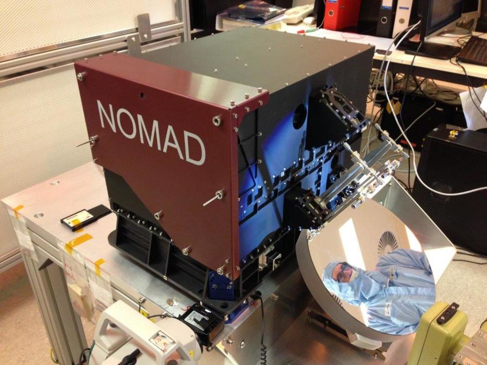 The NOMAD spectrometer. Author provided