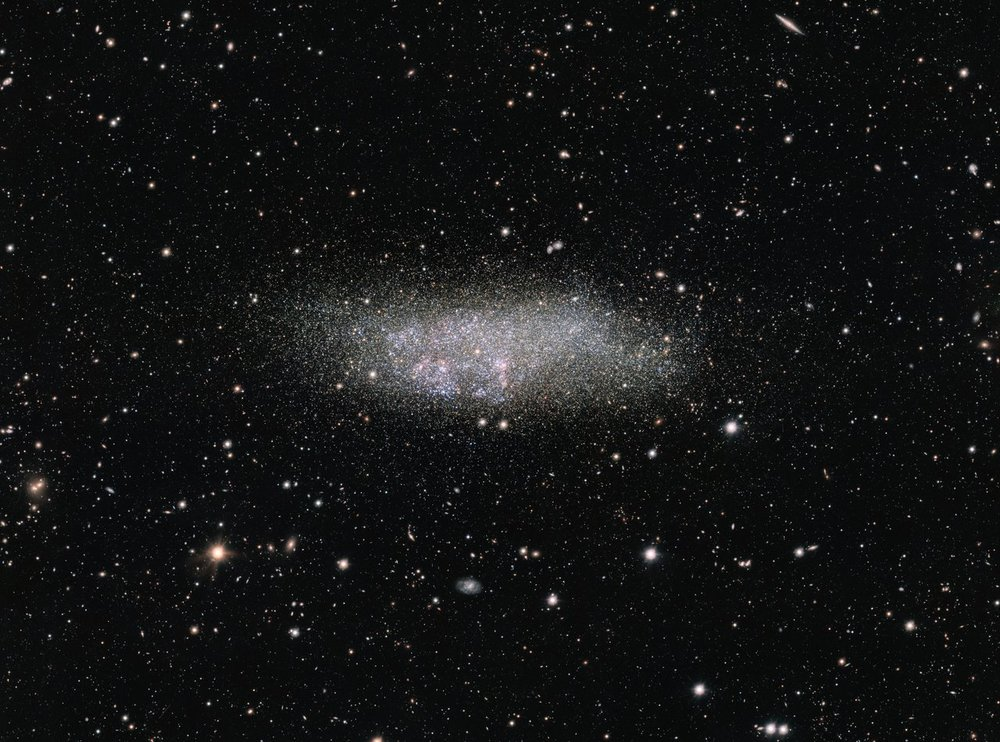 The WLM galaxy on the edge of the Local Group - Image Credit: ESO - Acknowledgement: VST/Omegacam Local Group Survey