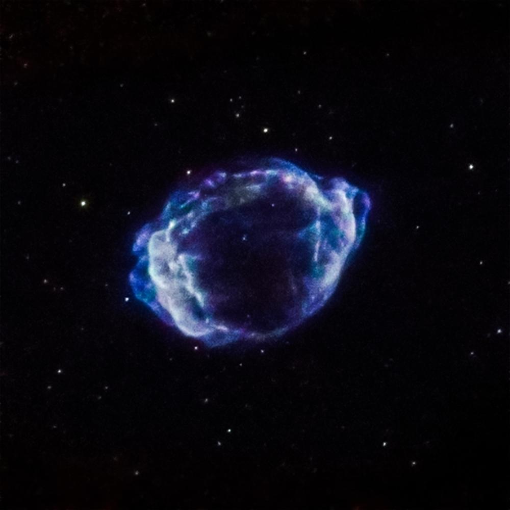 Supernova G1.9+0.3 - Image   Credits: NASA/CXC/CfA/S. Chakraborti et al.