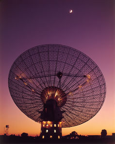 Parkes telescope - Image Credit:CSIRO,CC BY-SA