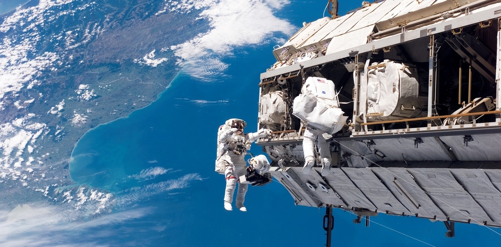 Spacewalk. – Image Credit: NASA