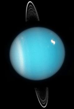 Planet Nine could be similar to Uranus. - Image Credit: NASA, ESA, and M. Showalter