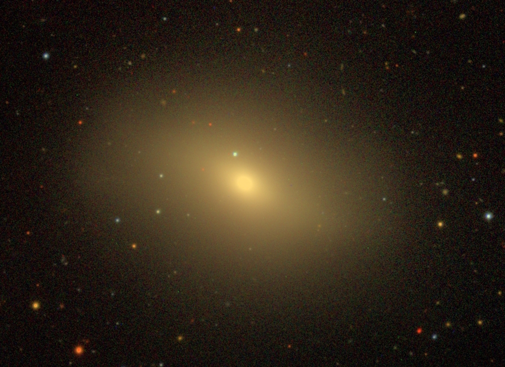 Many elliptical galaxies have effectively stopped making new stars. - Image Credit: NASA Sloan Atlas