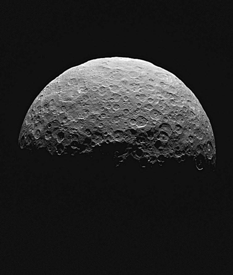 Dawn over Ceres – Image Credit: NASA/JPL-Caltech/UCLA/MPS/DLR/IDA