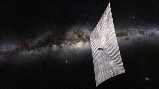The Planetary Society's LightSail-1 is one of the few concepts where a CubeSat relied on a solar sail. - Image Credit: Josh Spradling/The Planetary Society.