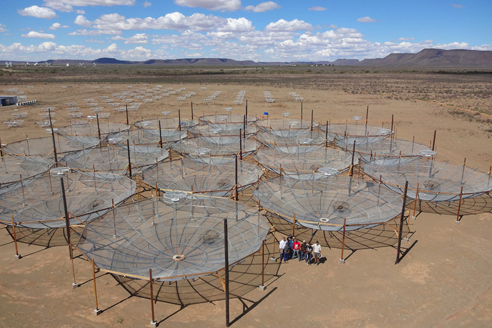 The start of construction on the HERA array. - Image Credit:  SKA South Africa ,  CC BY