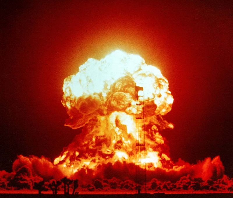 Earthquakes can also be caused by human-made factors, such as nuclear testing. – Image Credit: NNSA