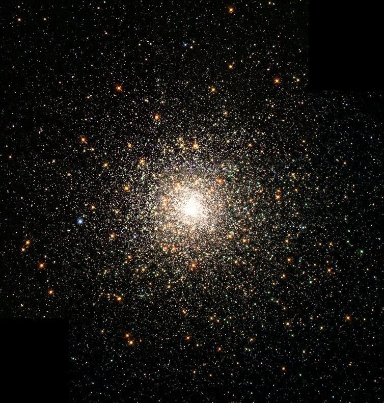 The Messier 80 globular cluster in the constellation Scorpius. – Image Credits: NASA