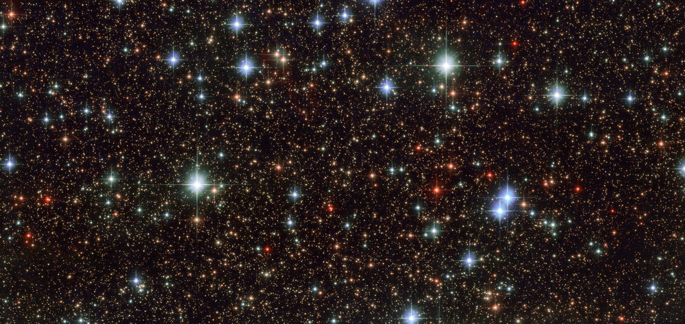 The Sagittarius constellation, as imaged by the Hubble Space Telescope. - Image Credit: IAU/NASA/ESA/HST