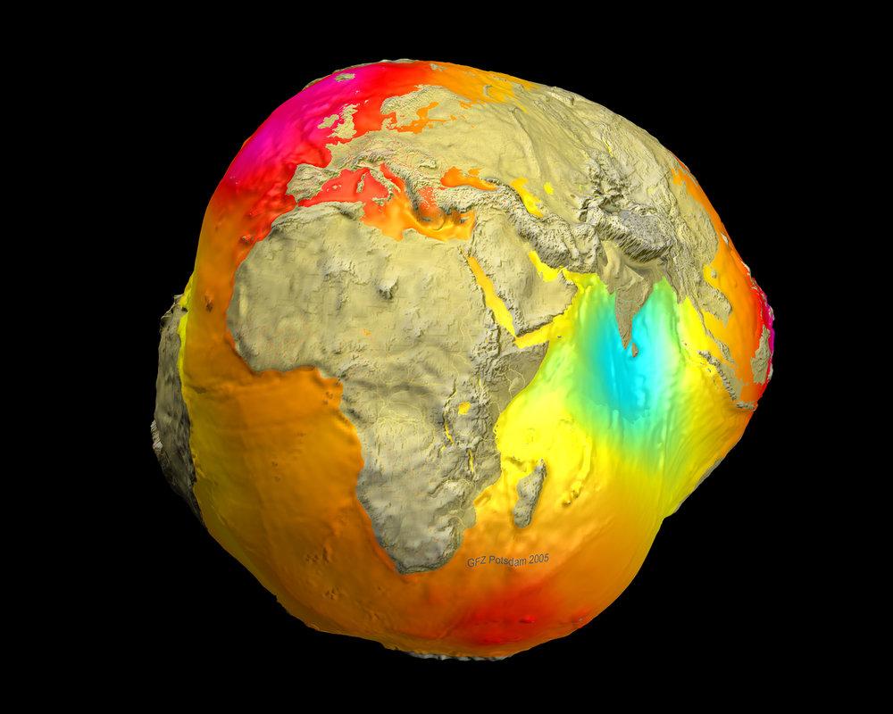 Image Credit:    CHAMP ,  GRACE ,  GFZ ,  NASA ,  DLR