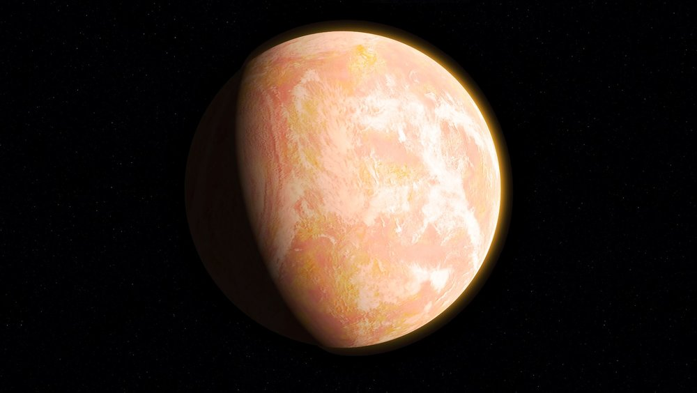 When haze built up in the atmosphere of Archean Earth, the young planet might have looked like this artist's interpretation - a pale orange dot. A team led by Goddard scientists thinks the haze was self-limiting, cooling the surface by about 36 degrees Fahrenheit (20 Kelvins) – not enough to cause runaway glaciation. The team's modeling suggests that atmospheric haze might be helpful for identifying earthlike exoplanets that could be habitable. - Image Credits: NASA's Goddard Space Flight Center/Francis Reddy