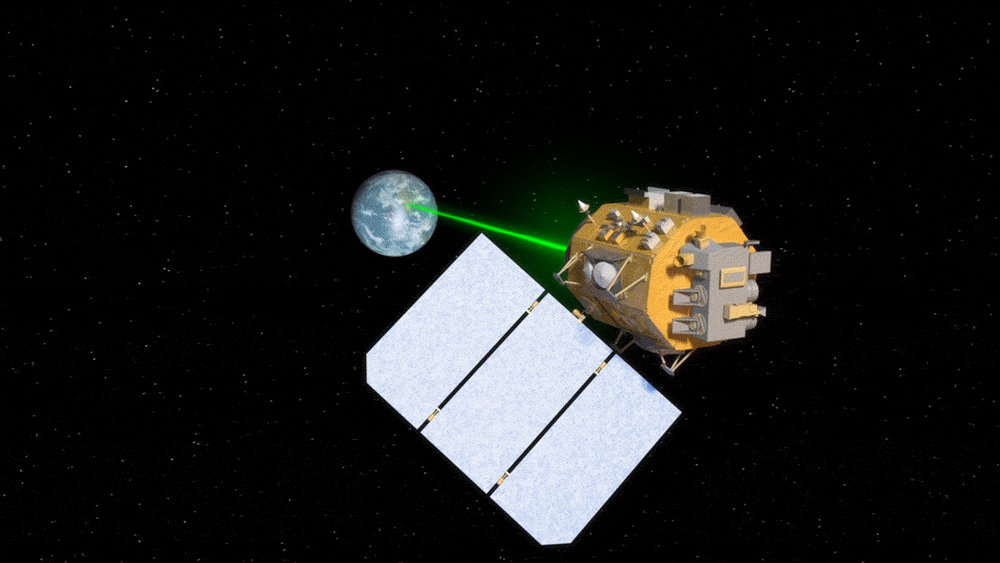Several upcoming NASA missions will use lasers to increase data transmission from space. - Image Credits: NASA's Goddard Space Flight Center/Amber Jacobson, producer