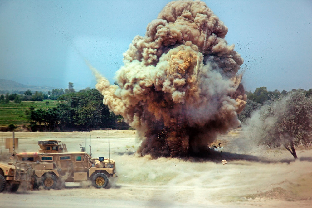 Many explosives have been designed for military and other specific uses - Image Credit: Kimberly Trumbull/WikimediaCommons
