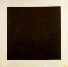 Can you appreciate the beauty of Kazimir Malevich's 'Black Square'? - Source: wikipedia