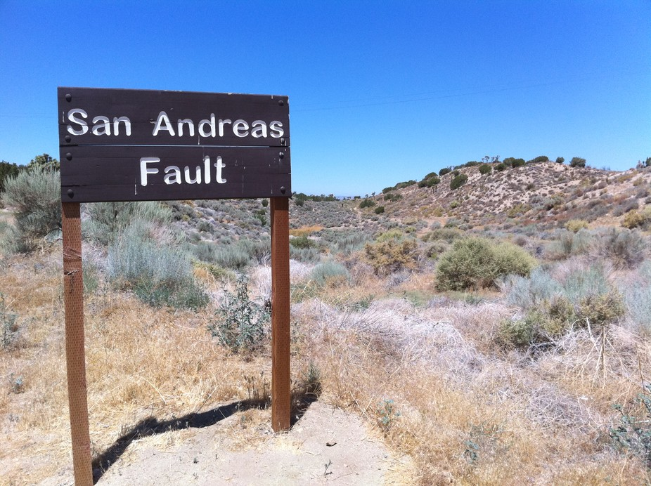 California is particularly earthquake-prone, hosting the great San Andreas fault zone. - Image Credit:  wlscience/flickr ,  CC BY-SA