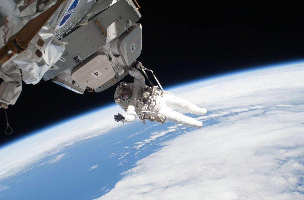Look ma, no gravity! - Image Credit: NASA  , CC BY