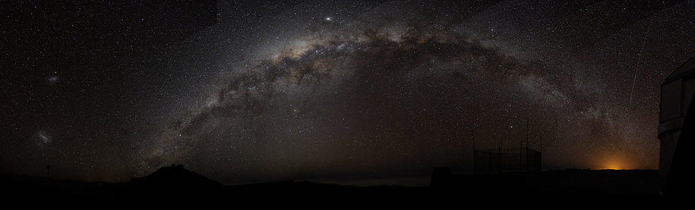 Dark matter seems to be hiding in our own Milky Way galaxy. - Image Credit:  Bruno Gilli/ESO    CC BY-SA
