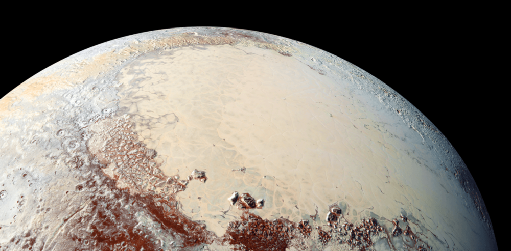 Pluto is a dwarf planet but that doesn't make it any less worthy of our attention. - Image Credit:  NASA/JHUAPL/SwRI