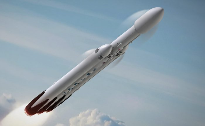 The Falcon Heavy, once operational, will be the most powerful rocket in the world. - Image Credit: SpaceX