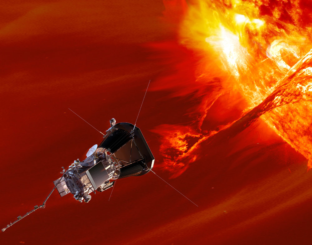 NASA's Solar Probe Plus will enter the sun's corona to understand space weather using a Faraday cup developed by the Smithsonian Astrophysical Observatory and Draper. - Image Credit: NASA/Johns Hopkins University Applied Physics Laboratory