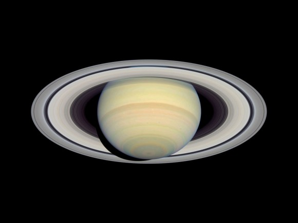 Saturn. - Image credit: Hubble