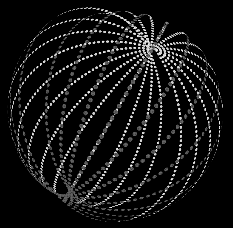 There are Dyson rings and spheres and this, an illustration of a Dyson swarm. Could this or a variation of it be what we're detecting around KIC? Not likely, but a fun thought experiment. - Image Credit: Falcorian/Wikipedia Commons